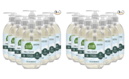Amazon Prime Day | Crazy Low Price Seventh Generation Hand Soap, Free & Clean Unscented, 12 oz, 8 Pack