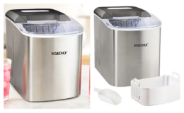 Cardholders Today Only! Igloo Automatic Portable Countertop Ice Maker only $110.49 (reg. $179.99) + $20 Kohl's Cash + Free Shipping