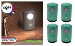 Mr. Beams Night Light 4-Pack just $9.99 + Extra 10% off at Zulily! (reg. $50)