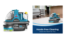 Walmart Deals for Days | BISSELL SpotBot Robotic Hands Free Portable Carpet Cleaner just $99 + Free Delivery
