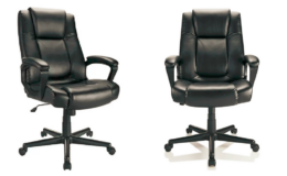Realspace Hurston Bonded Leather High-Back Executive Chair Only $89.99 (Reg. $199.99) + Free Shipping!