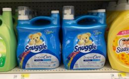 FREE Snuggle Liquid Fabric Softener, 95oz at Target {Rebate}