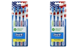 Oral-B Healthy Clean Toothbrush 4 Ct. as Low as $0.29 at CVS | Just Use Your Phone!