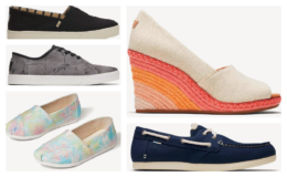 Up to 58% Off + Extra 30% Off Sitewide at TOMS!  Men's Cordones Sneaker $20.98 (reg. $59.95)