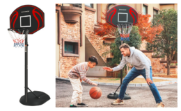 Height Adjustable 103.79'' Outdoor Basketball Hoop only $59.79 (reg. $107.99) + Free Shipping at Wayfair