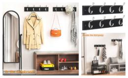 Extra 50% Off Amada Coat Rack Wall Mount 2 Pack {Amazon}