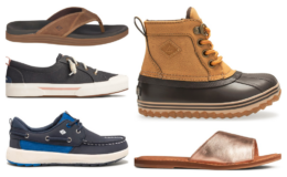 Up to 50% off + Extra 40% off Sale Styles at Sperry! Kids Shoes as low as $12 (Reg. $39.95) + Free Shipping!