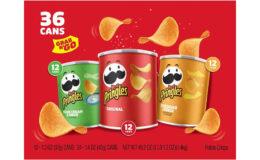 Costco:  Hot Deal on Pringles Grab & Go Potato Crisps - $4.00 off!