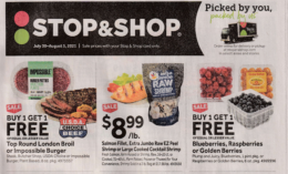 Stop & Shop Preview Ad for 7/30 Is Here!