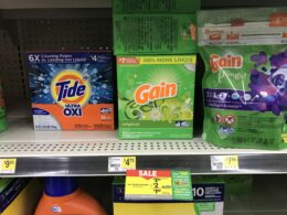 New $5/$25 Dollar General Coupon - Gain Laundry Detergent Just $0.18 + More {7/31 Only}