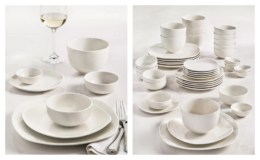 Tabletops Unlimited Whiteware 42-PC. Dinnerware Sets, Service for 6 only $39.99 Shipped (Reg. $120) at Macy's