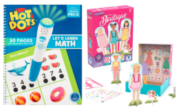 Up to 37% off Educational Supplies and Toys {Amazon}