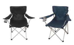 Ozark Trail Basic Quad Folding Outdoor Adult Camp Chair Just $6.86 at Walmart!
