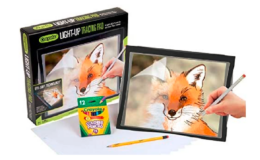 Crayola Light Up Tracing Pad with Eye-Soft Technology only $12.99 (reg. $20.17) at Woot!