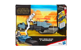 Star Wars Galaxy of Adventures First Order Driver And Treadspeeder Toy only $11.99 (Reg. $24.99) at Best Buy