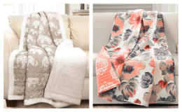 Quilted Throws up to 60% off - all $19.99 or less + Free Shipping $45+ at Zulily!