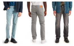 Levi's Men's Jeans as low as $15.90 (reg. $79.50) at Kohl's