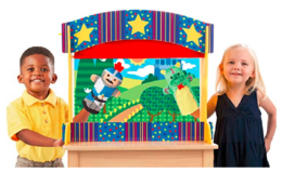 Melissa & Doug Tabletop Puppet Theater only $23.86 (Reg. $38.82) at WOOT!