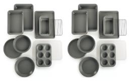 Martha Stewart Essentials 10-Pc. Bakeware Set $29.99 + Free Shipping (Reg. $60) at Macy's