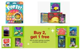 B2G1 Free Board Games, Puzzles, Activity & Craft Kits at Target