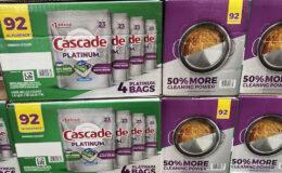 Costco:  Hot Deal on Cascade Platinum ActionPacs - $5.00 off!