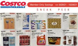 Costco Sneak Peek - Members Only Savings 9/29 - 10/24/21