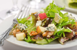Apple Walnut Salad Recipe   Dressing Recipe Included