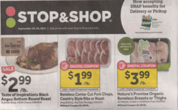 Stop & Shop Preview Ad for 9/24 Is Here!