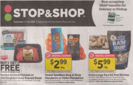 Stop & Shop Preview Ad for 9/17 Is Here!