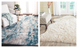 SAFAVIEH Rugs up to 75% off + Extra 15% Off at Zulily