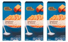 Gold Emblem Mac & Cheese as low as $0.19 at CVS!