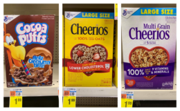 Select General Mills Cereal as low as $0.42 at CVS!