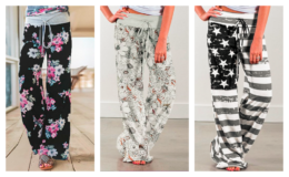 Lovely Lounge Pants all $8.99 - up to 70% off at Zulily!