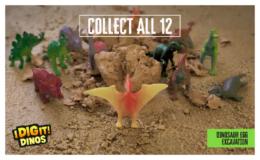 Thames & Kosmos I Dig It! Dinos - Assorted Dinosaur Egg Excavation Kit only $1.88(reg. $5.47) at Walmart!