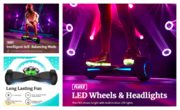 GOTRAX Fluxx FX3 Hoverboard with 6.5 inch Wheels & LED Headlights only $88 Shipped from Walmart (reg. $199)