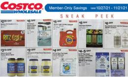 Costco Sneak Peek - Members Only Savings 10/27 - 11/21/21
