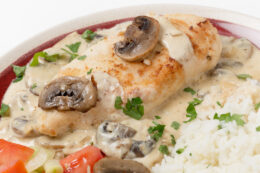 Chicken Tarragon Recipe | Mushroom Chicken Dish