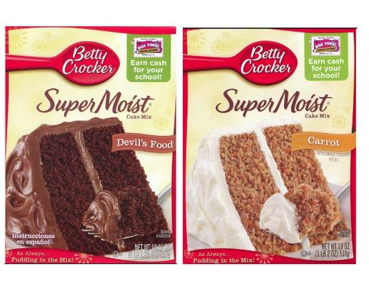Betty Crocker Cake Mix Aldi