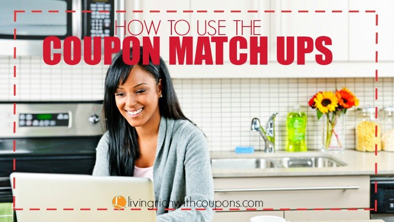 HOW TO USE THE COUPON MATCH UPS