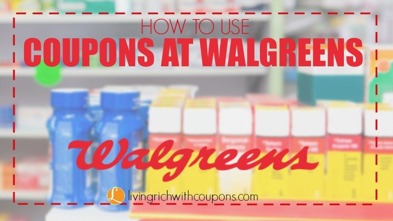 Walgreens Coupons - Walgreens Coupons Match Ups -Living Rich