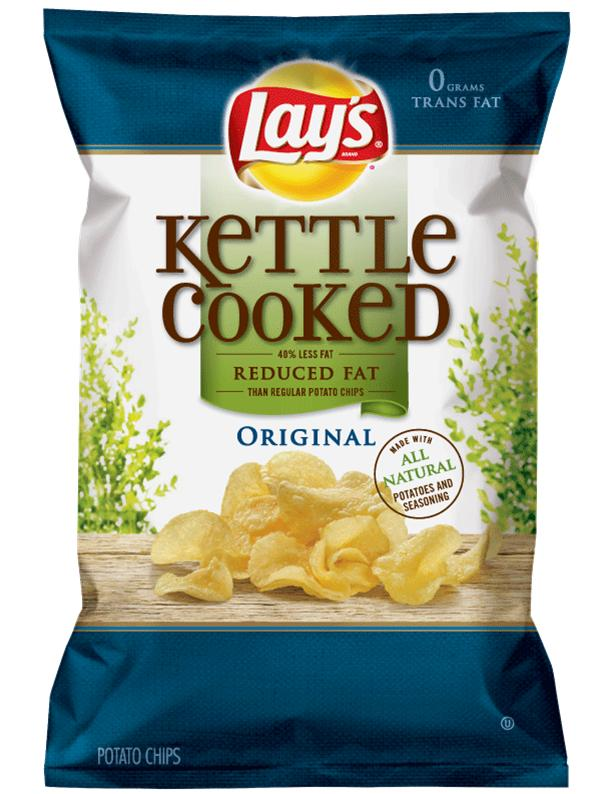 Kettle Cooked Chips ~ Lay s kettle cooked chips coupon