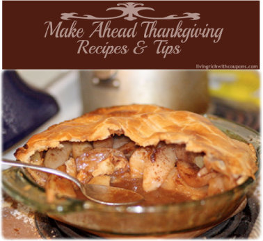 Make Ahead Thanksgiving Recipes & Tips