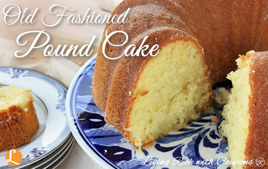 Old Fashioned Butter Pound Cake Loaf