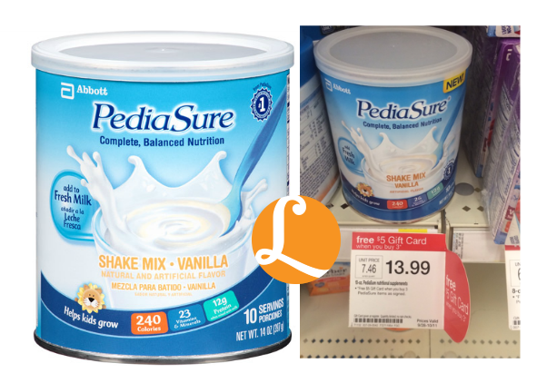 graphic about Pediasure Coupons Printable known as PediaSure Coupon - $1.66 at Aim! 88% Off - Presently Simply