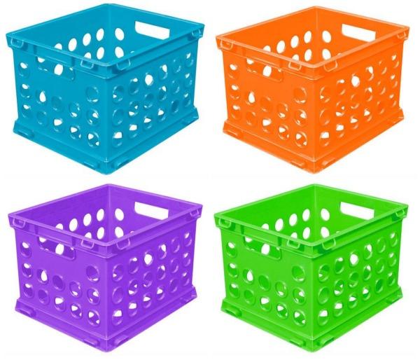 Sterilite Mini Crate, Assorted Colors