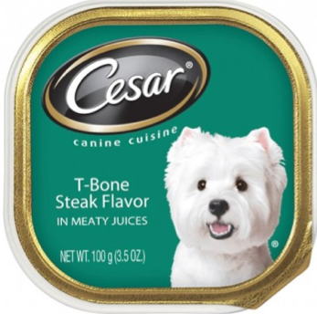 photograph about Caesars Dog Food Printable Coupons named Cesar Coupon - Absolutely free Cesar Tray Entree wyb any (3) Cesar Tray