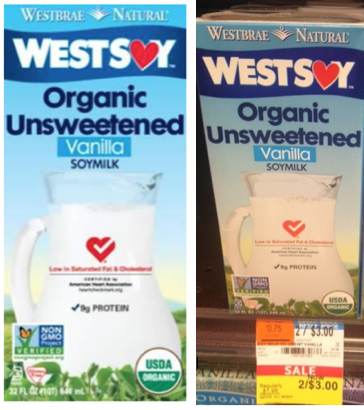 WestSoy Organic Soymilk Deal - $0 50 at Whole Foods -Living