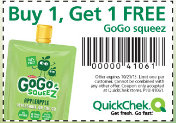 Coupons applesauce