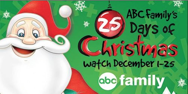 abc familys 25 days of christmas 2013 schedule - Abc 25 Days Of Christmas
