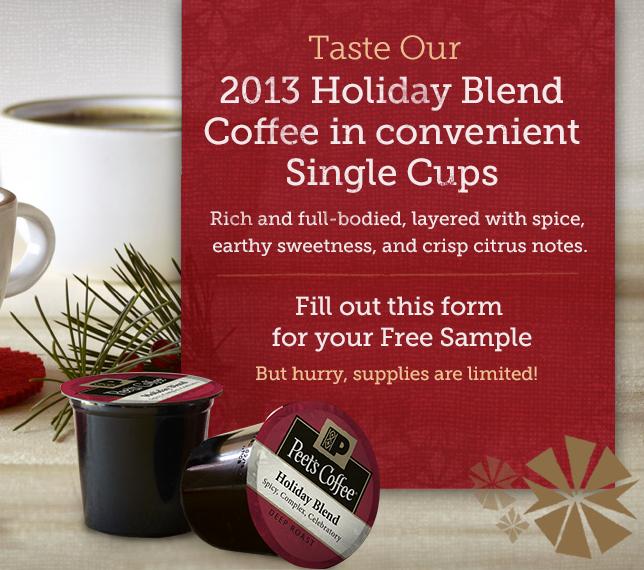 Free gevalia mocha latte k-cup samples.